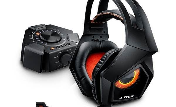 ASUS Strix 7.1 headphones to play with surround sound