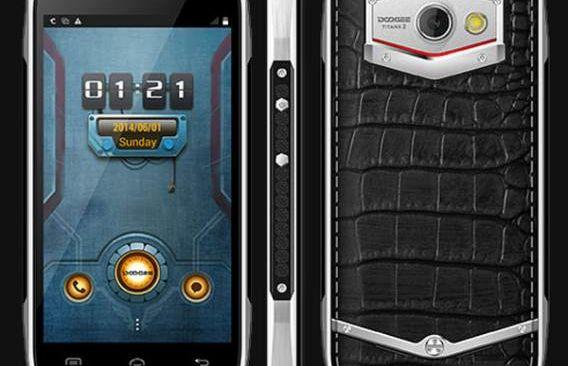 Doogee DG700 Titans 2 smartphone ultra-resistant
