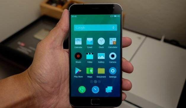 Meizu MX4 Pro fingerprint sensor