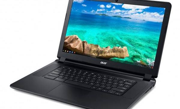 Acer shows off her new chromebooks