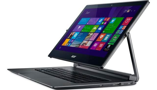 Acer Aspire R13 new convertible tablet with Windows 8.1