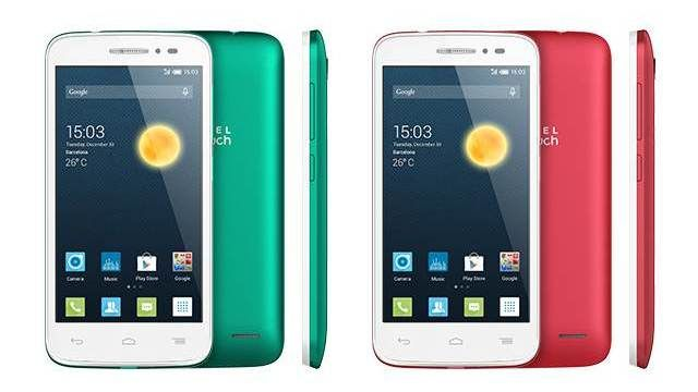Alcatel Pop 2 new smartphones Dual Sim LTE