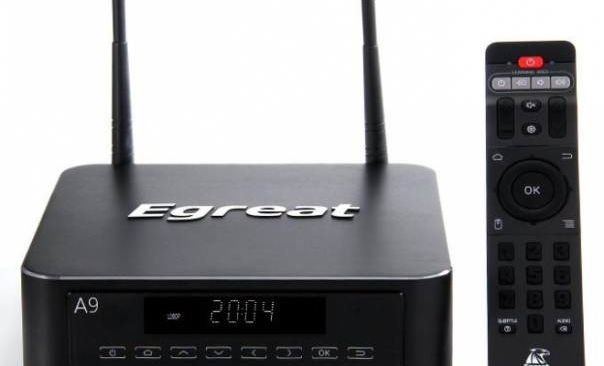 Egreat A9 - TVBox Android