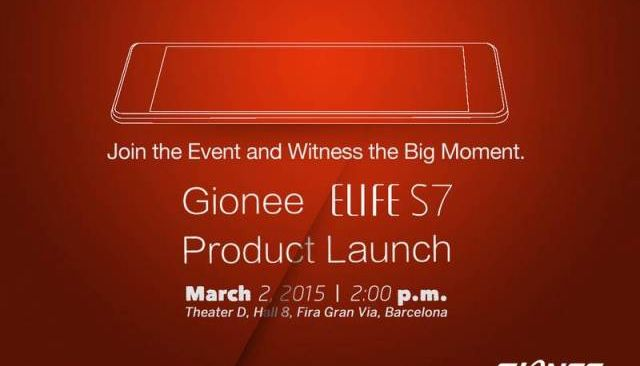 Gionee ELIFE S7 - insanely slim smartphone