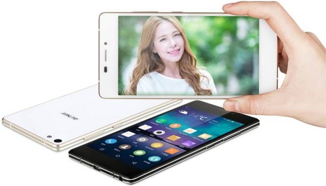 Gionee Elifa S7 - 5.5 mm thick and up to 2 days of autonomy