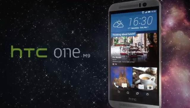 HTC One M9 presented at MWC 2015
