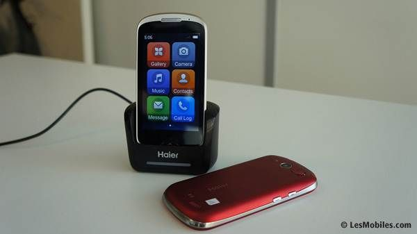 Haier has two E-ZY smartphones for seniors