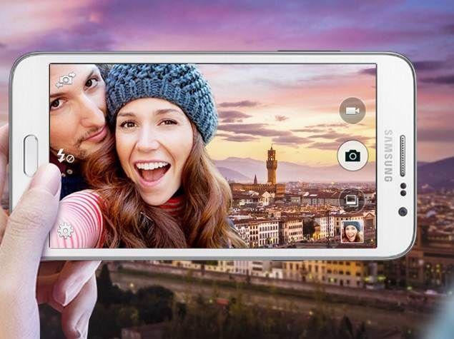Samsung: new 8-megapixel front camera for Selfie
