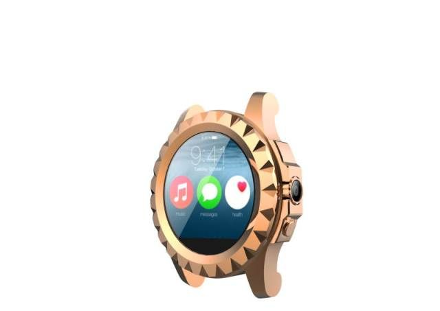 NO. 1 Sun - first smartwatch circular for the Chinese company