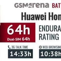 Huawei Honor 7 - battery test