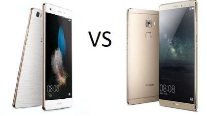 Huawei P8 vs Huawei Mate S