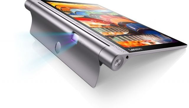 Lenovo Yoga Tab 3 Pro - tablet with a rotating projector