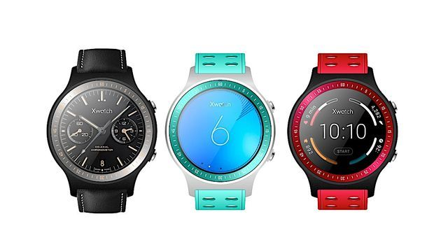 Bluboo XWatch - the first information and photos on the first smartwatch company
