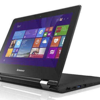 Lenovo Yoga 300 and Yoga 500 - convertible entertainment laptops