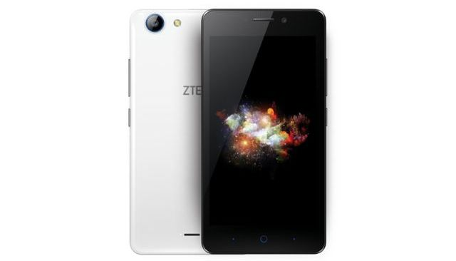 ZTE Mighty 3C - smartphone with 5-inch display and Snapdragon 210