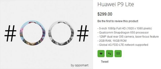 Huawei P9: all versions of flagship, prices and live photos