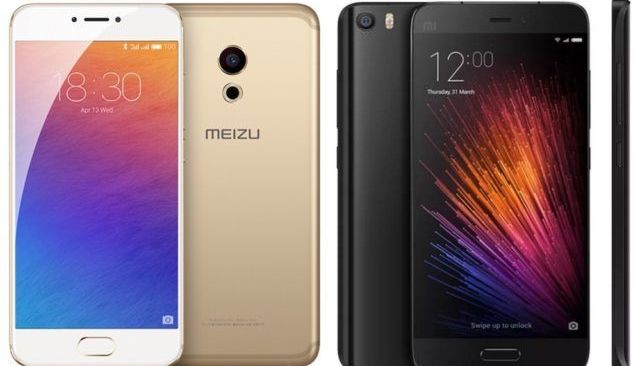 Compare Xiaomi Mi5 and Meizu Pro 6 - which is better?