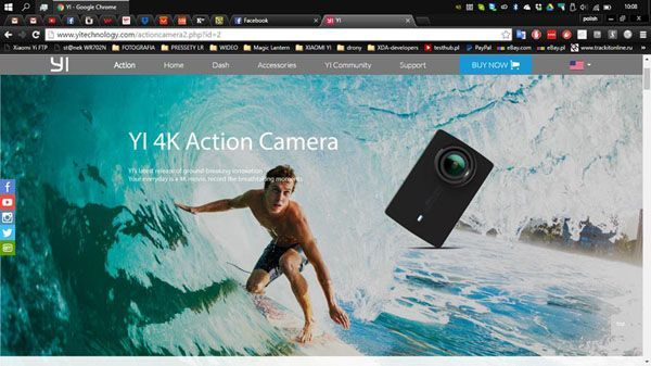 Xiaomi Yi 2: specifications and release date of new action camera
