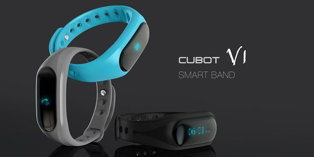 Cubot V1 - main competitor to fitness tracker Xiaomi Mi Band 2