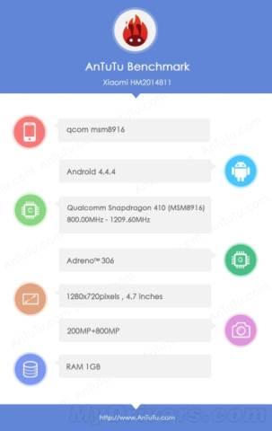 receiver Xiaomi Redmi 1S