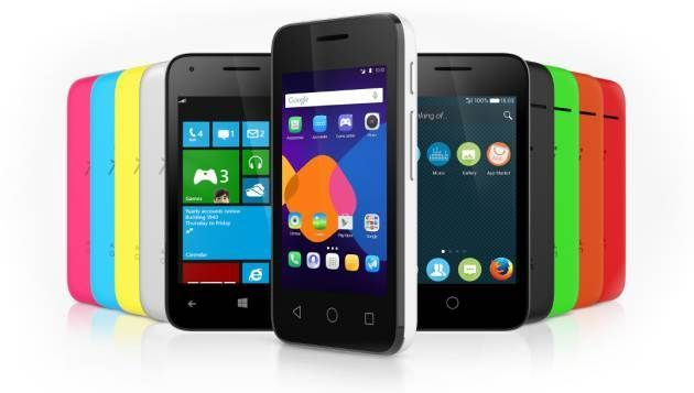 Alcatel OneTouch Pixi 3: compatible with three operating systems