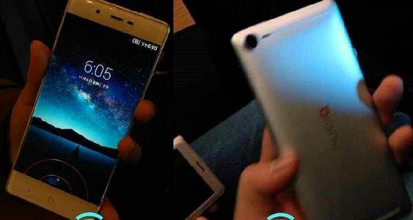 ZTE Nubia Z9 - smartphone borderless