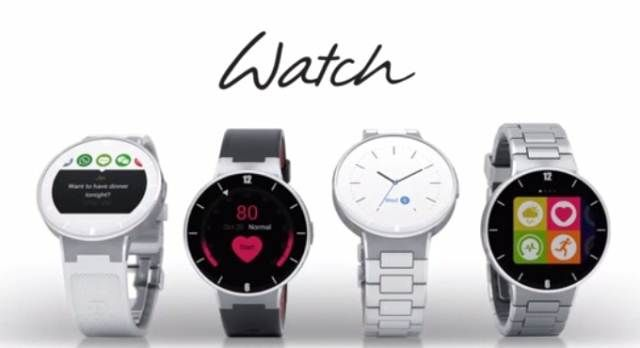 Alcatel One Touch Watch - first video release