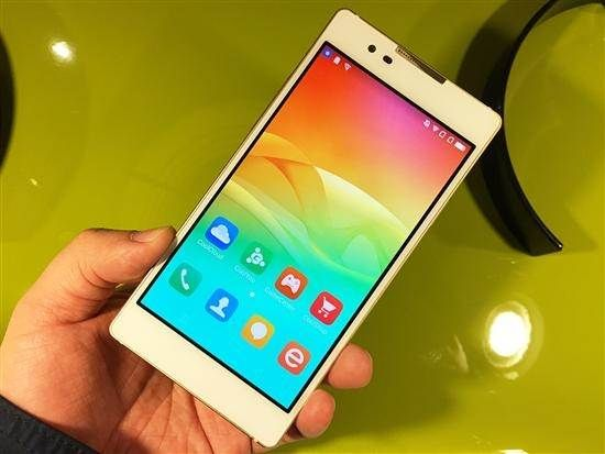 Coolpad X7 - spatial aluminum smartphone for only $ 255