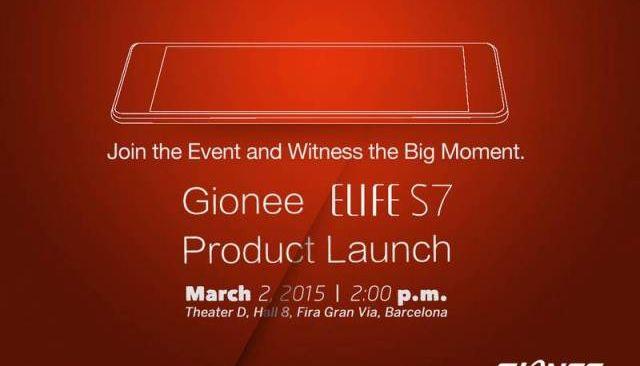 Gionee ELIFE S7 - insanely slim smartphone