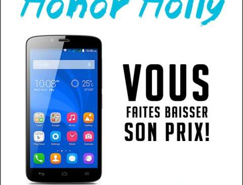 Honor Holly: first decline in prices thanks to Internet