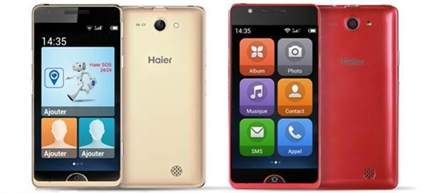 Haier has two E-ZY smartphones for seniors