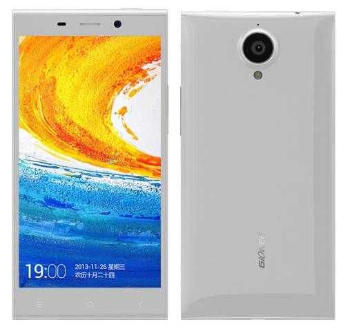 Manufacturer Gionee has a record result display PPI