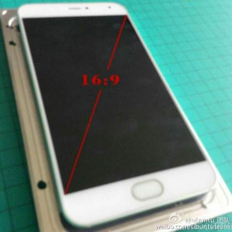 Meizu MX5 unveiled some new live pictures