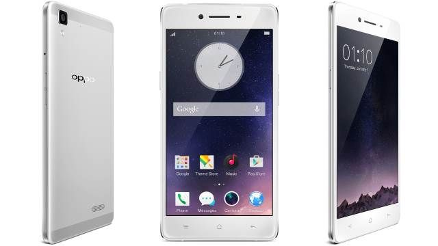 Oppo R7 - smartphone 5-inch with Sony camera
