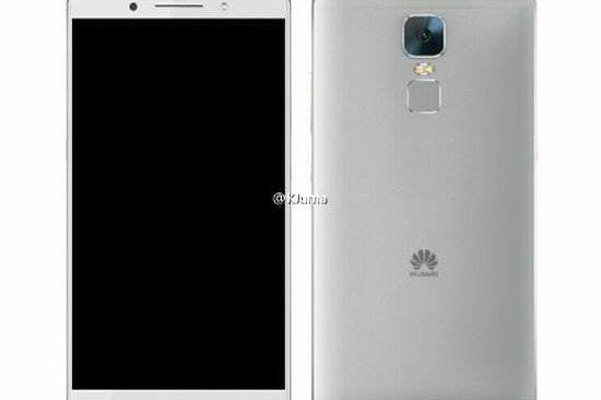 Huawei Mate 8 Render Leaks