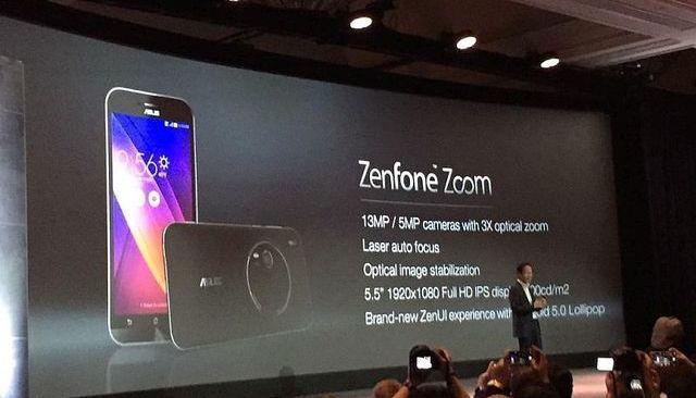 Asus announces new ZenFone Zoom and ZenFone Max