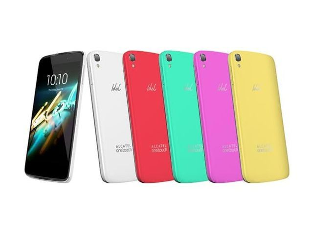 Alcatel OneTouch Idol 3C - new smartphone in a rainbow of colors