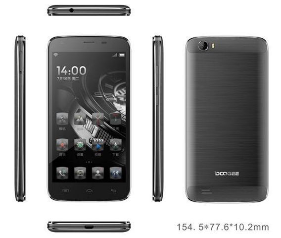 Doogee T6: coming with battery 6000 mAh and SoC MT6735