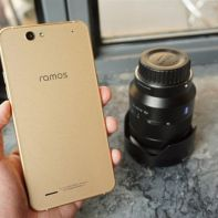 Ramos Mos1 Max - smartphone with 6000mAh battery and slim body