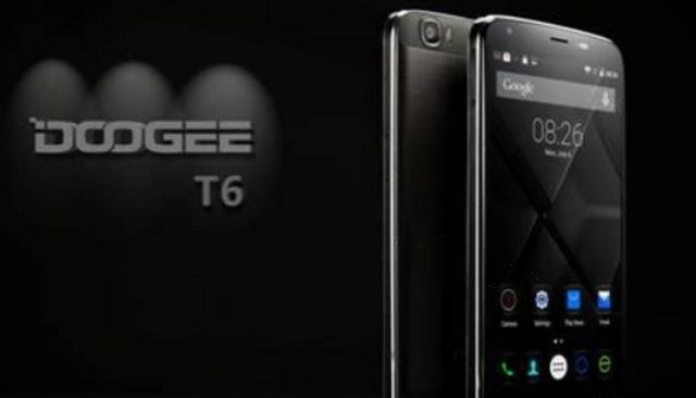Doogee T6 will arrive in November with 6250mAh battery