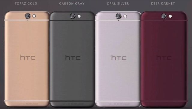 HTC One A9 smartphone with 5-inch screen FHD, Snapdragon 617 and Android Marshmallow