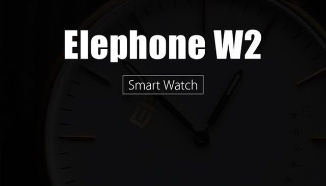 Elephone W2: traditional watch with smart features