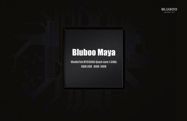 Review Bluboo Maya: release date, design and specifications